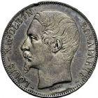 Photo numismatique  ARCHIVES VENTE 9 mars 2018 - Coll. Dr P. Corre MODERNES FRANÇAISES LOUIS-NAPOLEON BONAPARTE Prince-Président (2 décembre 1851-2 décembre 1852)  291- 5 francs, Paris 1852.