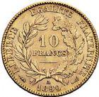 Photo numismatique  ARCHIVES VENTE 9 mars 2018 - Coll. Dr P. Corre MODERNES FRANÇAISES 3ème REPUBLIQUE (4 septembre 1870-10 juillet 1940)  303- 10 francs or, Paris 1889.