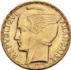 Photo numismatique  ARCHIVES VENTE 9 mars 2018 - Coll. Dr P. Corre MODERNES FRANÇAISES 3ème REPUBLIQUE (4 septembre 1870-10 juillet 1940)  304- 100 francs or, 1936.