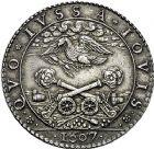 Photo numismatique  ARCHIVES VENTE 9 mars 2018 - Coll. Dr P. Corre JETONS et MÉDAILLES RARES HENRI IV (2 août 1589-14 mai 1610). Maximilien de BÉTHUNE, duc de SULLY. 306- Médaille frappée par Philippe Danfrie, 1607.