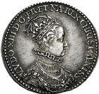 Photo numismatique  ARCHIVES VENTE 9 mars 2018 - Coll. Dr P. Corre JETONS et MÉDAILLES RARES LOUIS XIII (16 mai 1610-14 mai 1643)  Sacré à Reims, le 17 octobre 1610 309- Jeton en argent par Nicolas Briot.
