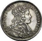 Photo numismatique  ARCHIVES VENTE 9 mars 2018 - Coll. Dr P. Corre JETONS et MÉDAILLES RARES LOUIS XV (1er septembre 1715-10 mai 1774)  322-Lot de 3 jetons d'argent de J. C. et G. Roettiers.