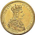 Photo numismatique  VENTE 9 mars 2018 - Coll. Dr P. Corre et divers JETONS et MEDAILLES RARES LOUIS XVI (10 mai 1774-21 janvier 1793)  324- Jeton en or par L. Léonard.