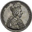 Photo numismatique  ARCHIVES VENTE 9 mars 2018 - Coll. Dr P. Corre JETONS et MÉDAILLES RARES LOUIS XVI (10 mai 1774-21 janvier 1793) Sacré à Reims, le 11 juin 1775 326- Lot de 3 médailles en argent, par Benjamin Duvivier et J. E. Gatteaux.