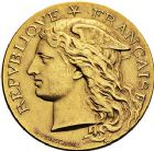 Photo numismatique  VENTE 9 mars 2018 - Coll. Dr P. Corre et divers JETONS et MEDAILLES RARES 3ème RÉPUBLIQUE (1871-1940)  343- Médaille en or du concours hippique de Vervins (Aisne), 1890.