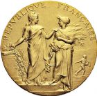 Photo numismatique  VENTE 9 mars 2018 - Coll. Dr P. Corre et divers JETONS et MEDAILLES RARES 3ème RÉPUBLIQUE (1871-1940)  347- Médaille en or du concours hippique de Cambrai, 1912.