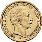 Photo numismatique  ARCHIVES VENTE 9 mars 2018 - Coll. Dr P. Corre MONNAIES DU MONDE ALLEMAGNE PRUSSE, Guillaume II (1888-1918) 350- 20 Marks or, Berlin, 1906.