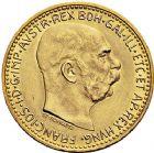 Photo numismatique  ARCHIVES VENTE 9 mars 2018 - Coll. Dr P. Corre MONNAIES DU MONDE AUTRICHE FRANCOIS-JOSEPH (1848-1916) 352- 10 couronnes or, 1912.
