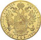 Photo numismatique  ARCHIVES VENTE 9 mars 2018 - Coll. Dr P. Corre MONNAIES DU MONDE AUTRICHE FRANCOIS-JOSEPH (1848-1916) 355- 4 ducats or, 1915, refrappe.