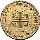 Photo numismatique  ARCHIVES VENTE 9 mars 2018 - Coll. Dr P. Corre MONNAIES DU MONDE BRÈSIL JEAN V (1706-1750) 359- Dobrao de 20 000 reis, Minas Gerais 1725.