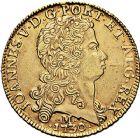 Photo numismatique  ARCHIVES VENTE 9 mars 2018 - Coll. Dr P. Corre MONNAIES DU MONDE BRÈSIL JEAN V (1706-1750) 360- Dobra de 12800 reis, Minas Gerais 1730.
