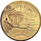 Photo numismatique  ARCHIVES VENTE 9 mars 2018 - Coll. Dr P. Corre MONNAIES DU MONDE ÉTATS-UNIS d'AMÉRIQUE du NORD  366- 20 dollars 1924.
