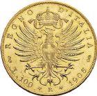 Photo numismatique  ARCHIVES VENTE 9 mars 2018 - Coll. Dr P. Corre MONNAIES DU MONDE ITALIE SAVOIE-SARDAIGNE, Victor Emmanuel III (1900-1943) 372- 100 lire, Rome 1905.
