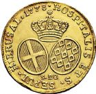 Photo numismatique  ARCHIVES VENTE 9 mars 2018 - Coll. Dr P. Corre MONNAIES DU MONDE MALTE Ordre de Saint-Jean de Jérusalem. EMMANUEL DE ROHAN (1775-1797).  374- 20 scudi, 1778.