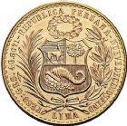 Photo numismatique  ARCHIVES VENTE 9 mars 2018 - Coll. Dr P. Corre MONNAIES DU MONDE PEROU République (depuis 1821) 377- 100 soles, 1961.