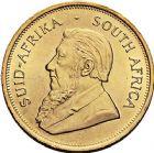 Photo numismatique  ARCHIVES VENTE 9 mars 2018 - Coll. Dr P. Corre MONNAIES DU MONDE AFRIQUE DU SUD République depuis 1960 382- Krugerrand or, 1971.