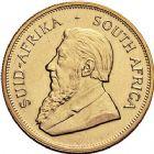 Photo numismatique  ARCHIVES VENTE 9 mars 2018 - Coll. Dr P. Corre MONNAIES DU MONDE AFRIQUE DU SUD République depuis 1960 384- Krugerrand or, 1977.