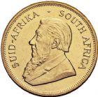 Photo numismatique  ARCHIVES VENTE 9 mars 2018 - Coll. Dr P. Corre MONNAIES DU MONDE AFRIQUE DU SUD République depuis 1960 385- Krugerrand or, 1977.