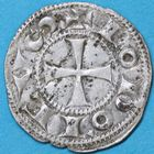 Photo numismatique  MONNAIES BARONNIALES Comté d'ANGOULEME (XIIe-XIIIe siècles) Denier anonyme au nom de Louis.