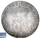 Photo numismatique  ARCHIVES VENTE 8 mars 2018 - Coll D. Fenouil ROYALES FRANCAISES LOUIS XIV (14 mai 1643-1er septembre 1715)  14- Écu de Navarre à la mèche longue, 1653, *V*, SAINT-PALAIS.