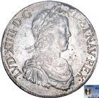 Photo numismatique  ARCHIVES VENTE 8 mars 2018 - Coll D. Fenouil ROYALES FRANCAISES LOUIS XIV (14 mai 1643-1er septembre 1715)  15- Écu blanc à la mèche longue, 1654, L, BAYONNE.
