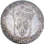 Photo numismatique  ARCHIVES VENTE 8 mars 2018 - Coll D. Fenouil ROYALES FRANCAISES LOUIS XIV (14 mai 1643-1er septembre 1715)  20- Écu blanc à la mèche longue, 1659, L, BAYONNE.