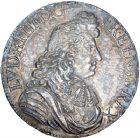 Photo numismatique  ARCHIVES VENTE 8 mars 2018 - Coll D. Fenouil ROYALES FRANCAISES LOUIS XIV (14 mai 1643-1er septembre 1715)  41- Écu blanc à la cravate, 1678, A, PARIS.