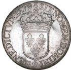 Photo numismatique  ARCHIVES VENTE 8 mars 2018 - Coll D. Fenouil ROYALES FRANCAISES LOUIS XIV (14 mai 1643-1er septembre 1715)  42- Écu blanc à la cravate, 1679, 9, RENNES.