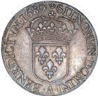 Photo numismatique  ARCHIVES VENTE 8 mars 2018 - Coll D. Fenouil ROYALES FRANCAISES LOUIS XIV (14 mai 1643-1er septembre 1715)  43- Écu blanc à la cravate, 1680, A, PARIS.