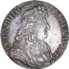 Photo numismatique  ARCHIVES VENTE 8 mars 2018 - Coll D. Fenouil ROYALES FRANCAISES LOUIS XIV (14 mai 1643-1er septembre 1715)  46- Écu blanc à la cravate, 1683, 9, RENNES.