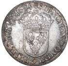 Photo numismatique  ARCHIVES VENTE 8 mars 2018 - Coll D. Fenouil ROYALES FRANCAISES LOUIS XIV (14 mai 1643-1er septembre 1715)  48- Écu blanc à la cravate, 1685, 9, RENNES.
