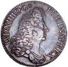 Photo numismatique  ARCHIVES VENTE 8 mars 2018 - Coll D. Fenouil ROYALES FRANCAISES LOUIS XIV (14 mai 1643-1er septembre 1715)  50- Écu blanc à la perruque, 1686, A, PARIS.