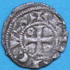 Photo numismatique  MONNAIES BARONNIALES Duché d'AQUITAINE HENRI Ier Plantagenet (1152-1169) Obole.