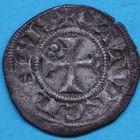 Photo numismatique  MONNAIES BARONNIALES Evêché de CAHORS (Fin du XIIIe - début du XIVe siècle) Obole.
