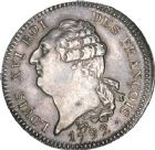 Photo numismatique  ARCHIVES VENTE 8 mars 2018 - Coll D. Fenouil MODERNES FRANÇAISES LA CONVENTION (22 septembre 1792 - 26 octobre 1795)  176- ÉCU de 6 livres type