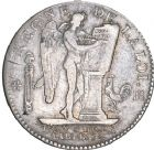 Photo numismatique  ARCHIVES VENTE 8 mars 2018 - Coll D. Fenouil MODERNES FRANÇAISES LA CONVENTION (22 septembre 1792 - 26 octobre 1795)  178- ÉCU de 6 livres type