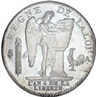 Photo numismatique  ARCHIVES VENTE 8 mars 2018 - Coll D. Fenouil MODERNES FRANÇAISES LA CONVENTION (22 septembre 1792 - 26 octobre 1795)  179- ÉCU de 6 livres type