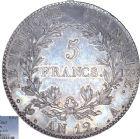 Photo numismatique  ARCHIVES VENTE 8 mars 2018 - Coll D. Fenouil MODERNES FRANÇAISES NAPOLEON Ier, empereur (18 mai 1804- 6 avril 1814)  194- 5 FRANCS Napoléon empereur (type intermédiaire), AN12, A, PARIS.