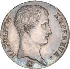 Photo numismatique  ARCHIVES VENTE 8 mars 2018 - Coll D. Fenouil MODERNES FRANÇAISES NAPOLEON Ier, empereur (18 mai 1804- 6 avril 1814)  197- 5 FRANCS Napoléon empereur (calendrier grégorien), 1806, A, PARIS.