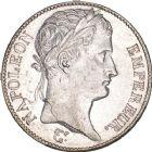 Photo numismatique  ARCHIVES VENTE 8 mars 2018 - Coll D. Fenouil MODERNES FRANÇAISES NAPOLEON Ier, empereur (18 mai 1804- 6 avril 1814)  200- 5 FRANCS Napoléon tête laurée, au revers République Française, 1807, A, PARIS.