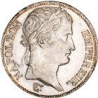 Photo numismatique  ARCHIVES VENTE 8 mars 2018 - Coll D. Fenouil MODERNES FRANÇAISES NAPOLEON Ier, empereur (18 mai 1804- 6 avril 1814)  201- 5 FRANCS Napoléon tête laurée, au revers République Française, 1808, W, LILLE.