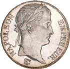 Photo numismatique  ARCHIVES VENTE 8 mars 2018 - Coll D. Fenouil MODERNES FRANÇAISES NAPOLEON Ier, empereur (18 mai 1804- 6 avril 1814)  202- 5 FRANCS au revers Empire Français, 1809, A, PARIS.