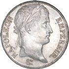Photo numismatique  ARCHIVES VENTE 8 mars 2018 - Coll D. Fenouil MODERNES FRANÇAISES NAPOLEON Ier, empereur (18 mai 1804- 6 avril 1814)  204- 5 FRANCS au revers Empire Français, 1811, D, LYON.