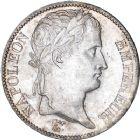 Photo numismatique  ARCHIVES VENTE 8 mars 2018 - Coll D. Fenouil MODERNES FRANÇAISES NAPOLEON Ier, empereur (18 mai 1804- 6 avril 1814)  205- 5 FRANCS au revers Empire Français, 1812, B, ROUEN.