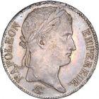 Photo numismatique  ARCHIVES VENTE 8 mars 2018 - Coll D. Fenouil MODERNES FRANÇAISES NAPOLEON Ier - Les Cents-Jours (20 mars au 22 juin 1815)  210- 5 FRANCS 5 F, Louis XVIII type au buste nu, 1816, A, PARIS.