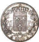 Photo numismatique  ARCHIVES VENTE 8 mars 2018 - Coll D. Fenouil MODERNES FRANÇAISES CHARLES X (16 septembre 1824-2 août 1830)  220- 5 FRANCS 5 F, Charles X 1er type, 1824, A, PARIS.