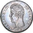 Photo numismatique  ARCHIVES VENTE 8 mars 2018 - Coll D. Fenouil MODERNES FRANÇAISES CHARLES X (16 septembre 1824-2 août 1830)  221- 5 FRANCS 5 F, Charles X 1er type, 1825, A, PARIS.
