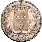 Photo numismatique  ARCHIVES VENTE 8 mars 2018 - Coll D. Fenouil MODERNES FRANÇAISES CHARLES X (16 septembre 1824-2 août 1830)  222- 5 FRANCS 5 F, Charles X 1er type, 1826, A, PARIS.