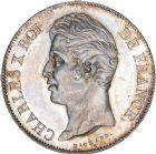 Photo numismatique  ARCHIVES VENTE 8 mars 2018 - Coll D. Fenouil MODERNES FRANÇAISES CHARLES X (16 septembre 1824-2 août 1830)  223- 5 FRANCS 5 F, Charles X 2e type, 1827, A, PARIS.