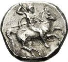 Photo numismatique  ARCHIVES VENTE 12 juin 2018 GRÈCE ANTIQUE Italie - Calabre Tarente sous Alexandre le Molosse (vers 334-330) 3- Statère. Sous Alexandre le Molosse (vers 334-330).